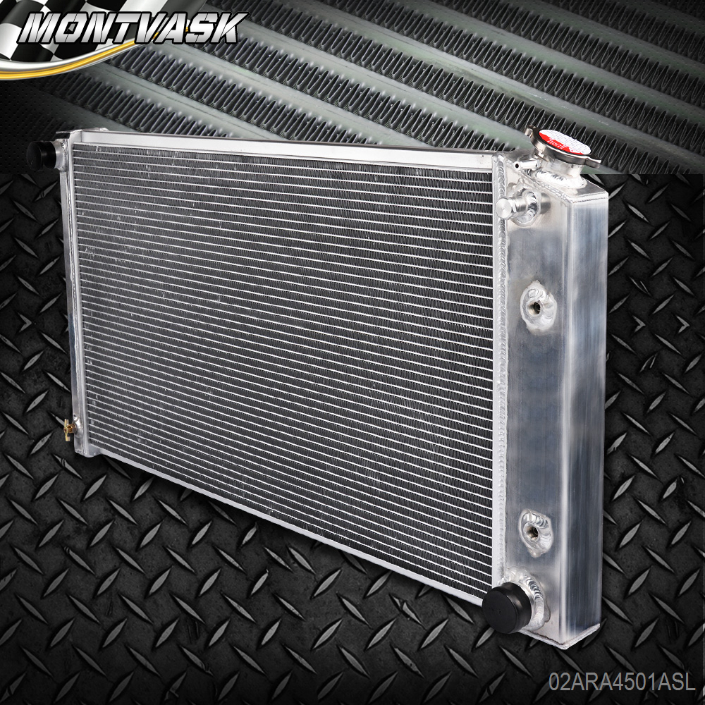 For 1970-1981 Chevy Camaro//75-79 Nova//68-73 Chevelle El Camino aluminum radiator