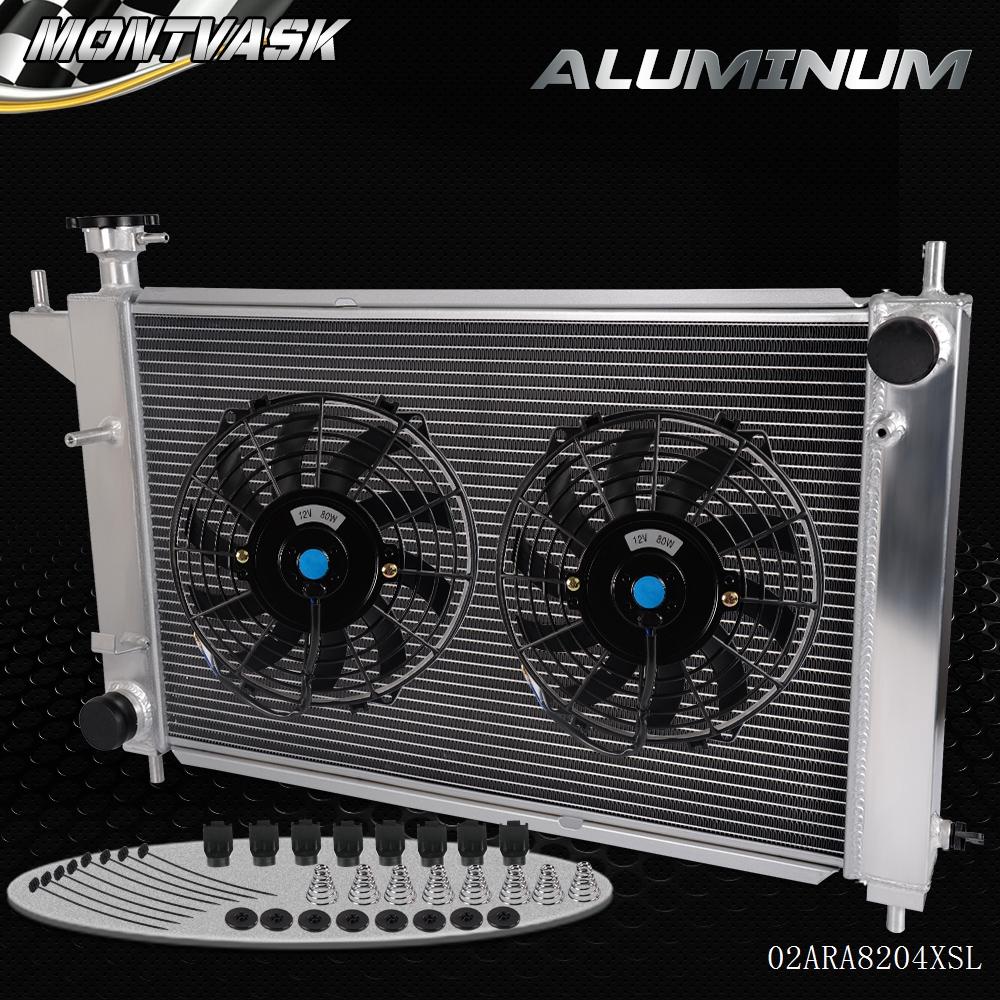 3 row ALUMINUM RADIATOR 1994-1995 95 94 FORD MUSTANG GT//GTS//SVT 3.8L 5.0L Manual
