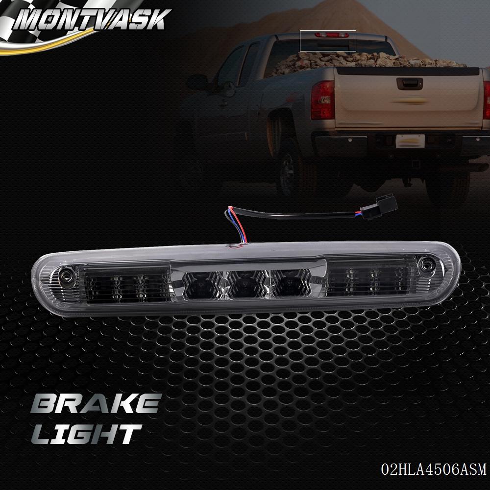 For 07-13 Chevy Silverado GMC Sierra 1500 2500 3500 LED Third Brake Light Bar
